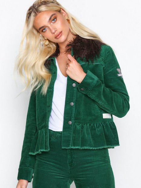 Odd Molly sincerely jacket Denimjakker Green