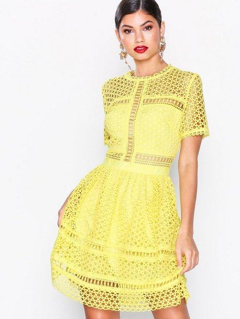 Billede af By Malina Emily dress Loose fit Lemon