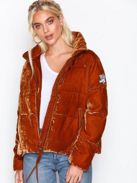 Billede af Odd Molly embrace velvet jacket Bomber jakker Rust