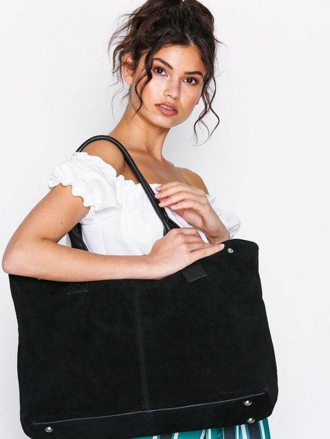 Billede af Pieces Pcdahlia Suede Bag Håndtaske Sort
