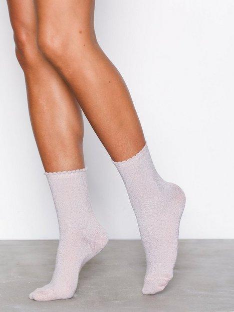 Billede af Pieces Pcsebby Glitter Long 1 Pack Socks N Strømper Lys Rosa