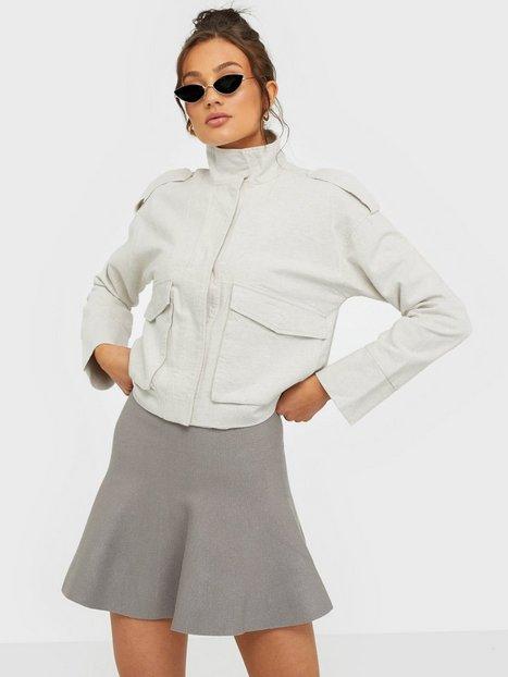 Billede af Noisy May Nmcirus Hw Short Knit Skirt Noos Mini nederdele Grå