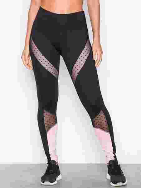 b2172c0630310 Rw Legging L2 Dot Mesh - Hunkemöller - Pink - Tights & Pants (Sports ...