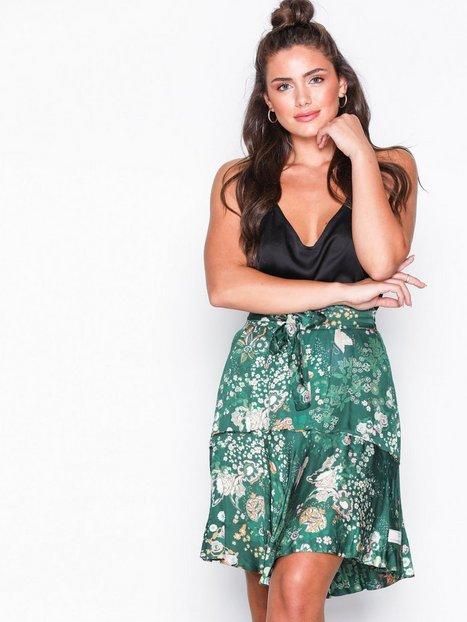 Billede af Odd Molly flower fantasy flirt skirt Mini nederdele Dark Green