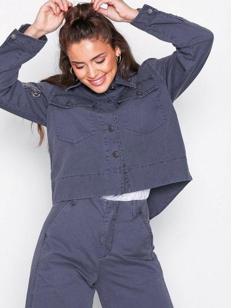 Odd Molly straight up nice jacket Bomber jakker Stone Grey