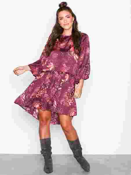 f5c5763cab93 Spirit Dress - Odd Molly - Burgundy - Dresses - Clothing - Women ...