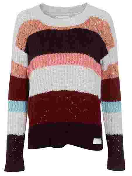 992daf4eff Wolly Blocks Sweater - Odd Molly - Red - Jumpers   Cardigans ...