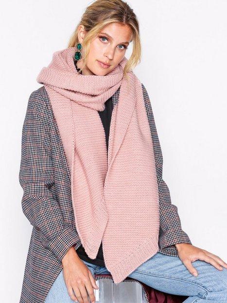 Billede af Pieces Pcdace Long Wool Scarf Noos Tørklæder Rosa/Lyserød