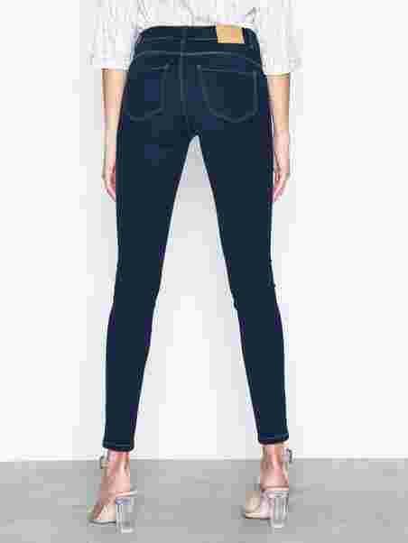 46fe9b1d0f4f5f Vmseven Nw S Shape Up Jeans Vi509 N - Vero Moda - Dark Blue - Jeans ...
