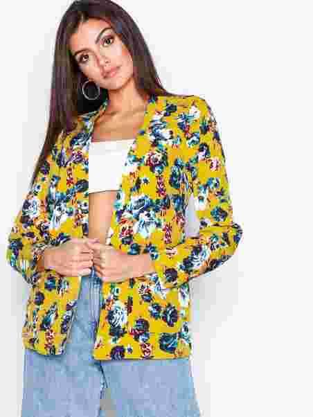 Vmnaya L S Blazer Sb7 - Vero Moda - Yellow - Jackets - Clothing ... 4fdede606b