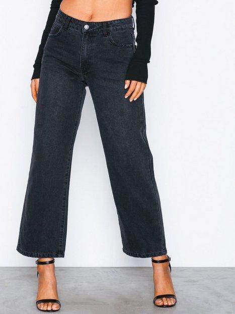 Vila Vidahla Rw Wide Cropped Denim Jeans Bootcut & Flare - Vila