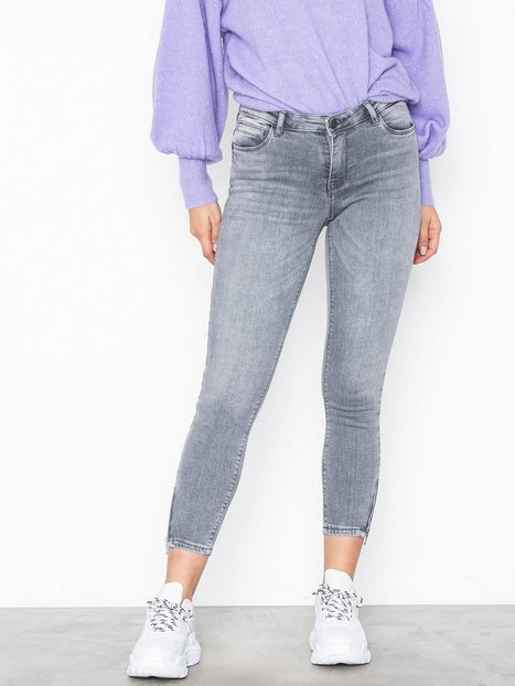 Billede af Noisy May Nmkimmy Nw Ankle Zip Jeans AZ006LG Jeans