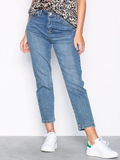 Billede af Noisy May Nmliv Nw Straight Jeans GU505 Noos Bukser & Shorts Blå