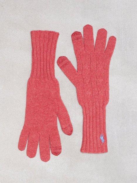 Billede af Polo Ralph Lauren Cable Wool Gloves Vanter og handsker Rød