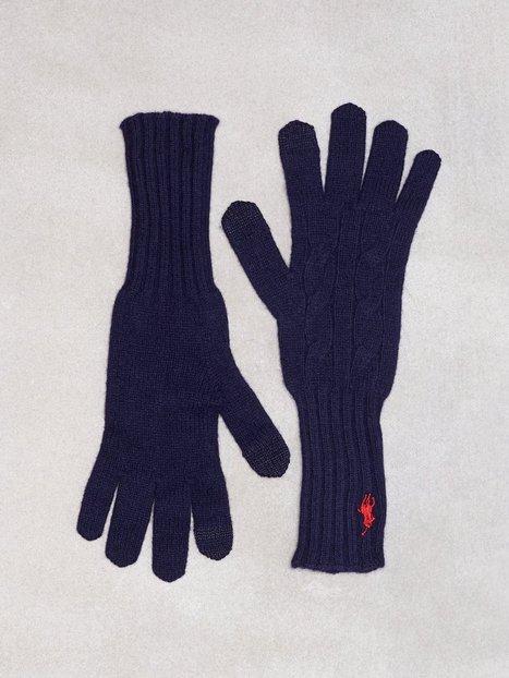 Billede af Polo Ralph Lauren Cable Wool Gloves Vanter og handsker Marine