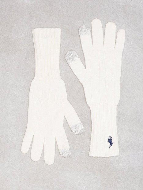 Billede af Polo Ralph Lauren Cable Wool Gloves Vanter & handsker Cream
