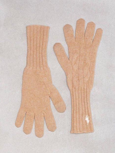 Billede af Polo Ralph Lauren Cable Wool Gloves Vanter & handsker Camel