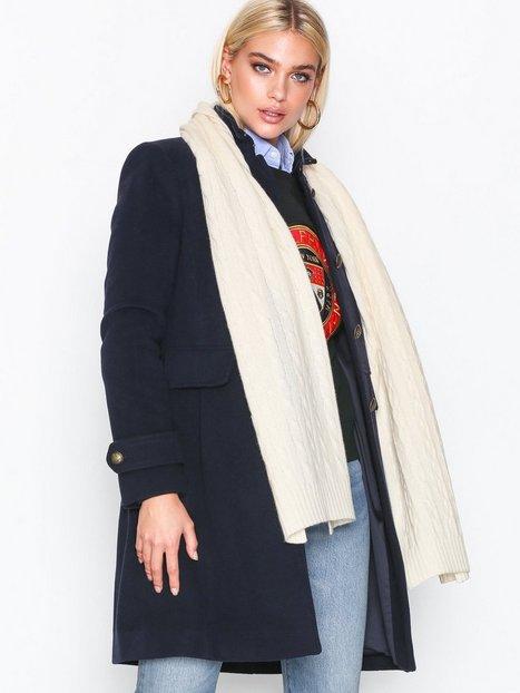 Billede af Polo Ralph Lauren Cable Wool Scarf Tørklæder Cream