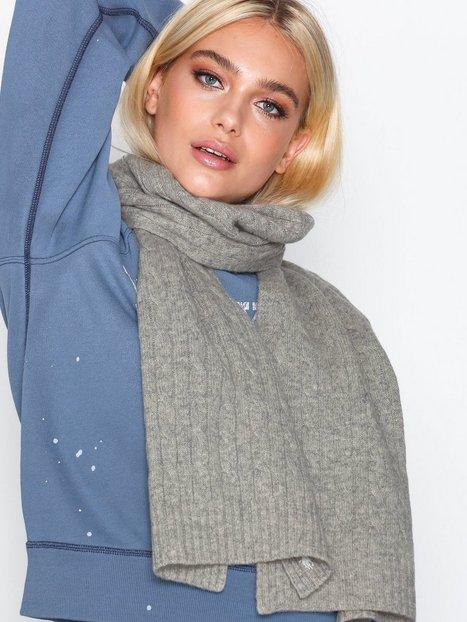 Billede af Polo Ralph Lauren Cable Wool Scarf Tørklæder Heather