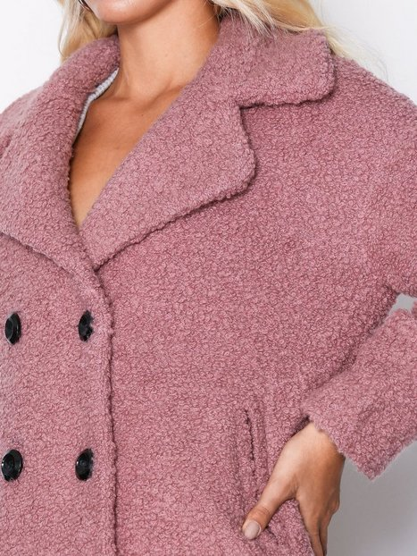 onlPALOMA BOUCLE LONG WOOL COAT OTW