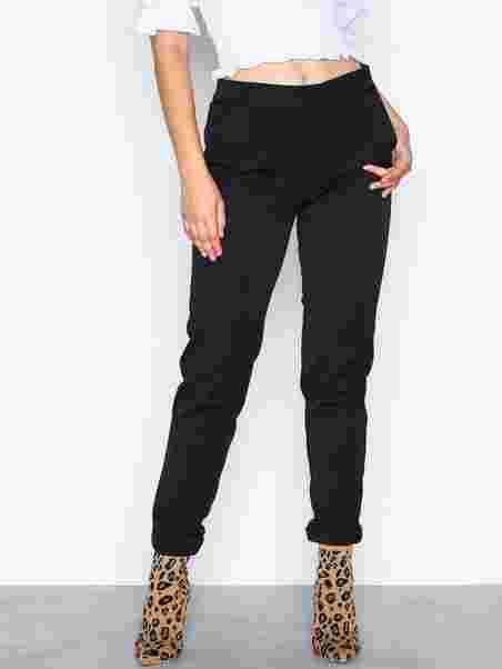 b8f279e1 Vmmaya Mr Loose Solid Pant - Vero Moda - Black - Pants & Shorts ...
