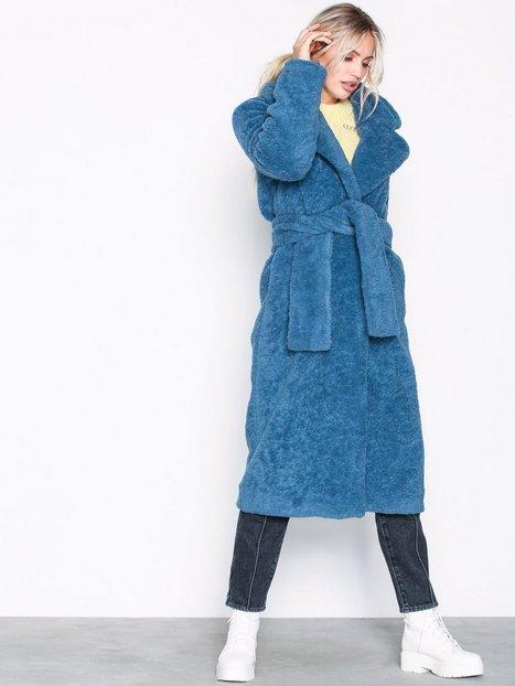 Samsøe Samsøe Naper jacket 10423 Faux Fur Blue