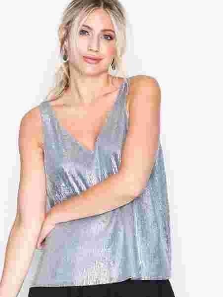 a450bd8efc98 Hale Top 10440 - Samsøe Samsøe - Silver - Tops - Clothing - Women ...