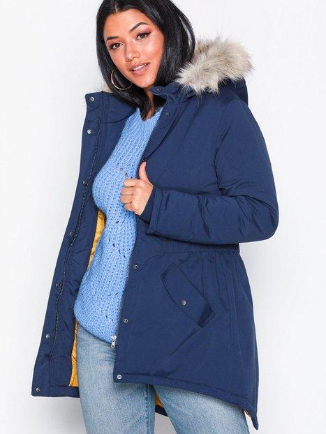 Billede af Jacqueline de Yong Jdystar New Fall Parka Jacket Otw Jakker & frakker Mørkeblå