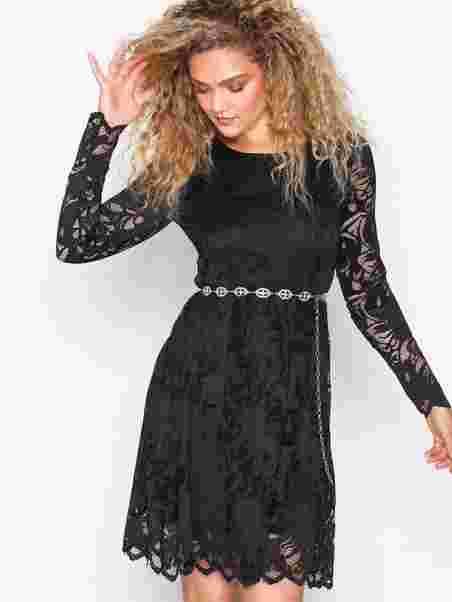 Shoppa Vistasia L S Lace Dress - Noos - Online Hos Nelly.com 1c4ceeb98b882
