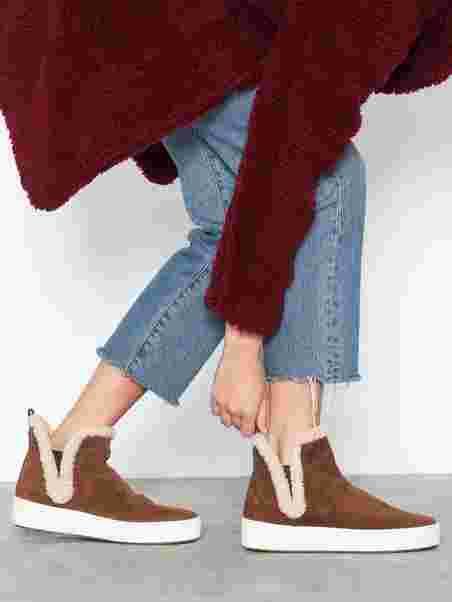 cae75fa279e Ashlyn Slip On - Michael Michael Kors - Caramel - Boots - Shoes ...