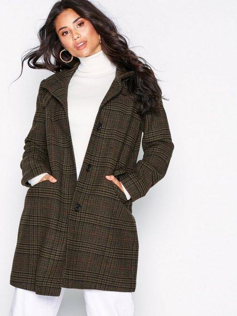 Lauren Ralph Lauren Nvelty Ban-Coat Frakker Green
