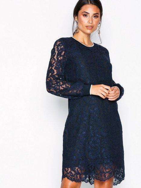 Lauren Ralph Lauren Yaritza-Long Sleeve-Casual Dress Langærmede kjoler Marine