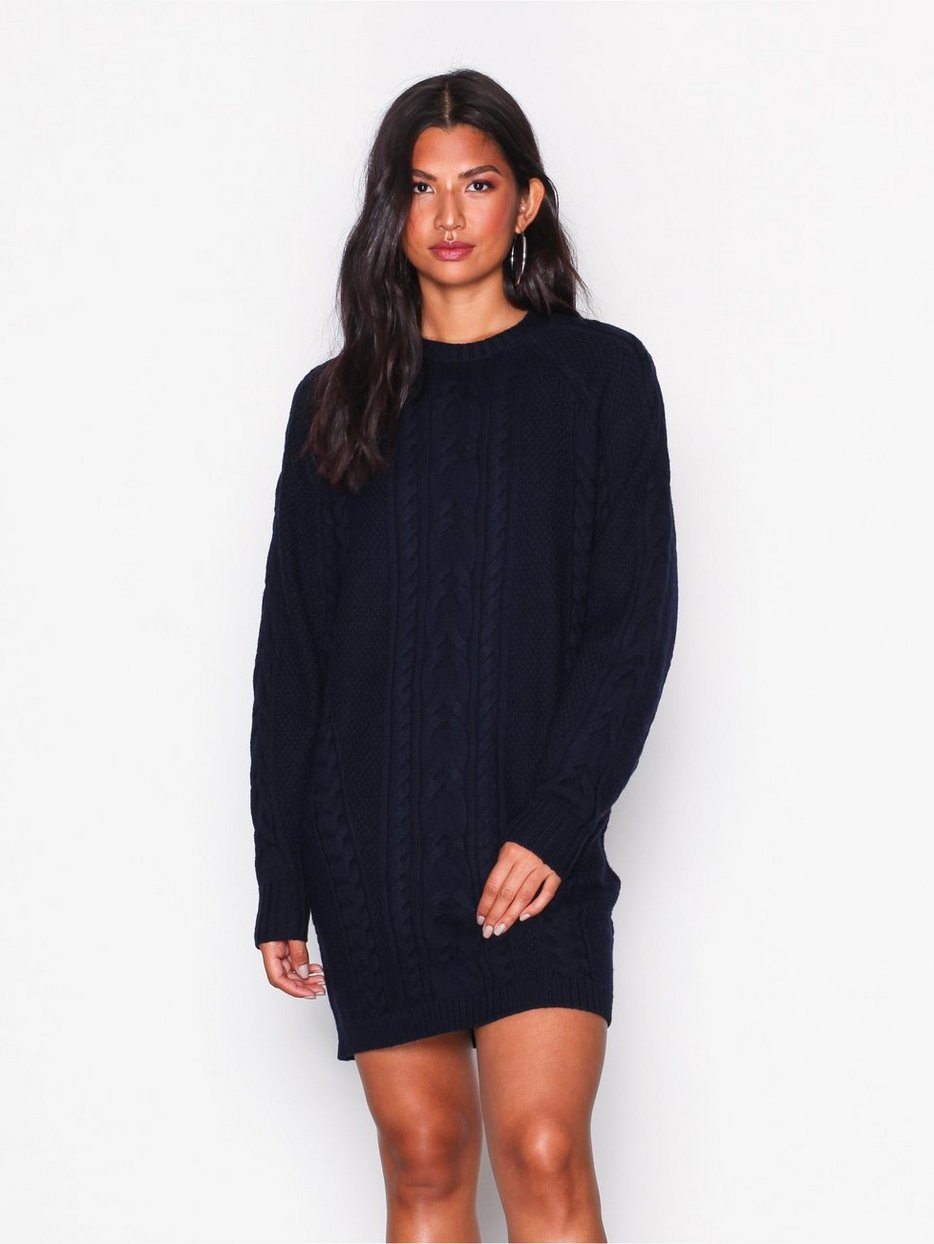 62fcfe40abf9 Aran Long Sleeve Casual Dress - Polo Ralph Lauren - Navy - Dresses -  Clothing - Women - Nelly.com