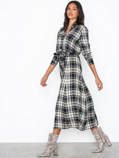 Polo Ralph Lauren Ls Stphne Dr-Long Sleeve-Casual Dress Langærmede kjoler Black