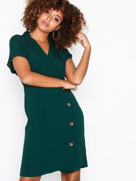 cfbc1999854a Vero Moda Vmriga S S Button Short Dress O18 Skater kjoler