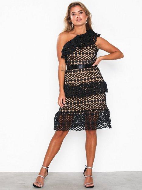 656542419078 Vila Vicory Oneshoulder Dress/Db Fodralklänningar