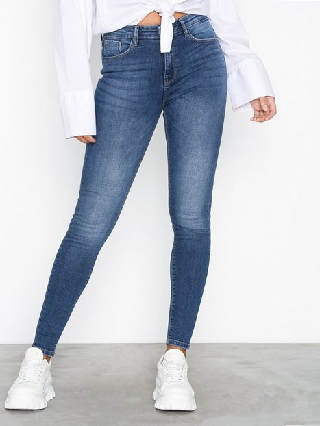Only onlPAOLA Hw Sk Dnm Jeans AZG0007 No Byxor & Shorts