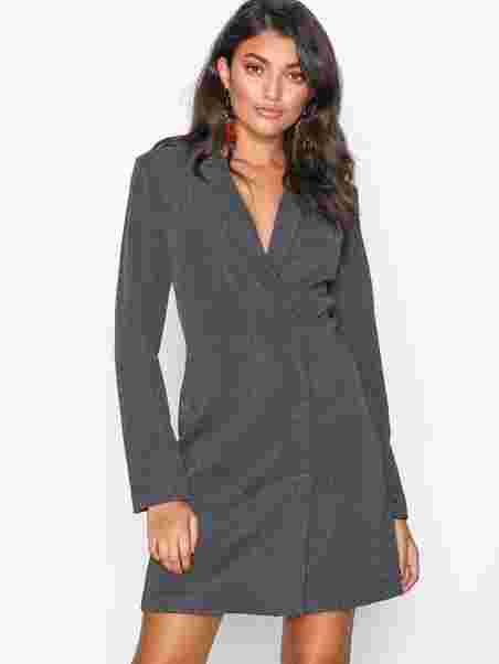 Shoppa Vmglitter Ls Short Dress Ki - Online Hos Nelly.com 18d72aa748ee7