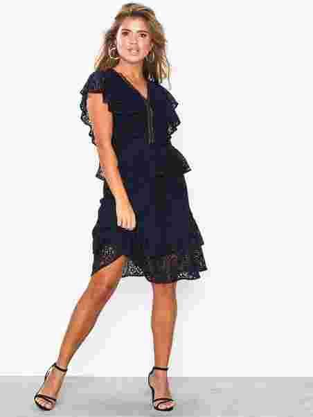 4b43f36532756 Yasmaida Lace Dress - Da - Y.A.S - Dark Blue - Dresses - Clothing ...