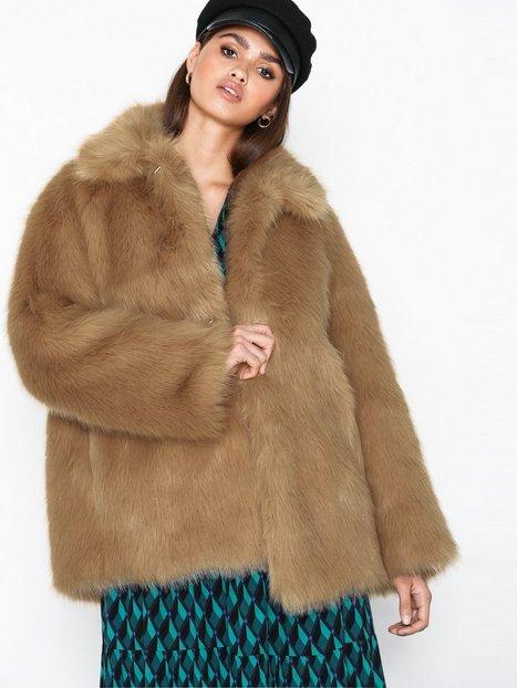 Billede af Hope Flux Jacket Faux Fur Beige
