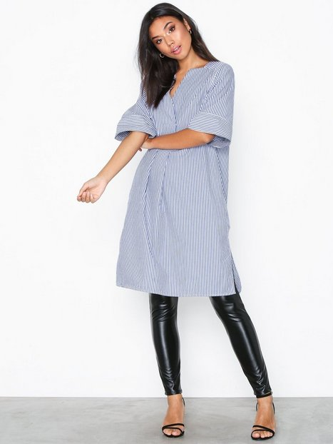Hope Mono Dress Loose fit dresses Blue Stripe