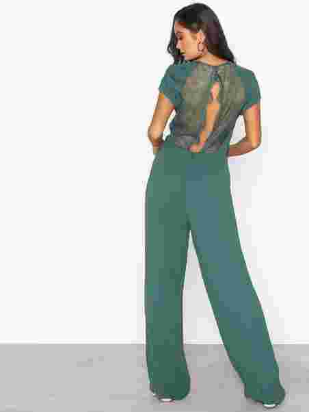 fb532e61 Reya Jumpsuit 6616 - Samsøe Samsøe - Green - Jumpsuits - Clothing ...
