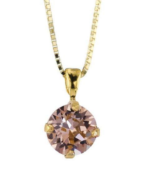Billede af Caroline Svedbom Classic Petite Necklace Gold Halskæder Rose