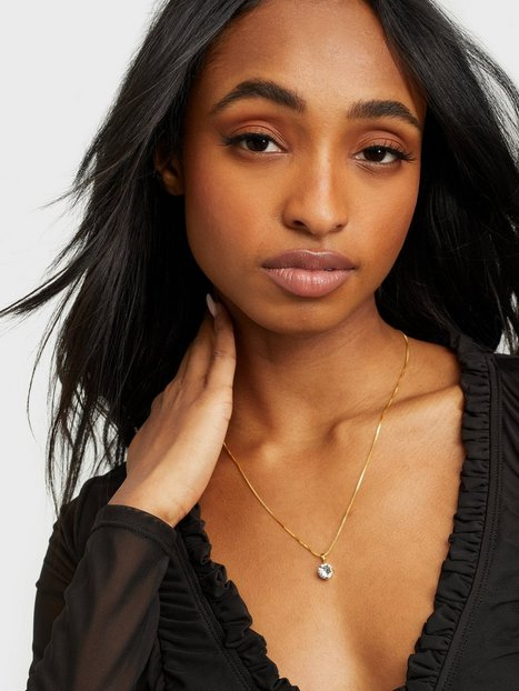 Billede af Caroline Svedbom Classic Petite Necklace Gold Halskæder Crystal