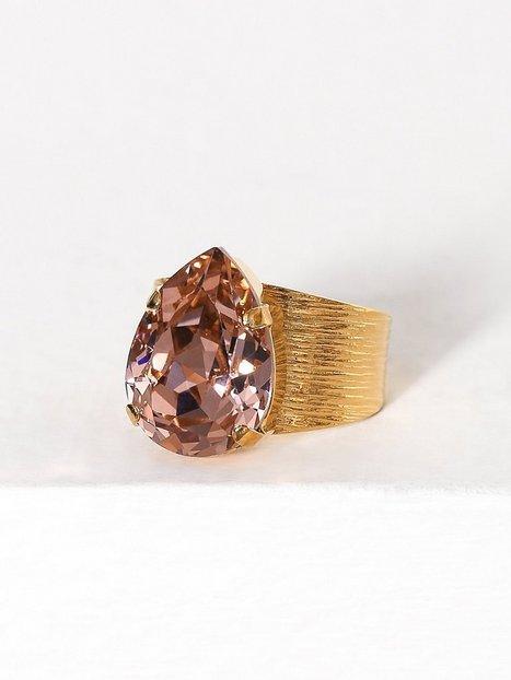 Billede af Caroline Svedbom Classic drop ring Ring Rose