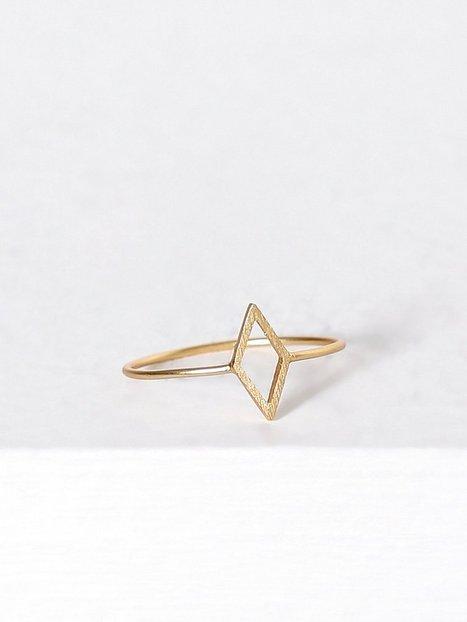 Billede af MINT By TIMI 2D Diamond Ring Ring