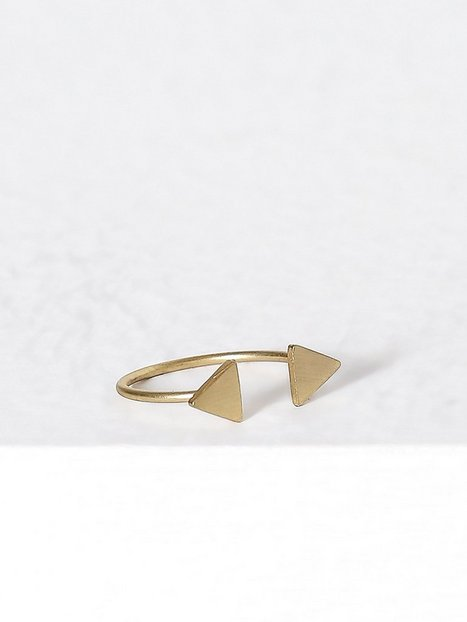 Billede af MINT By TIMI 2 triangle ring Ring Guld