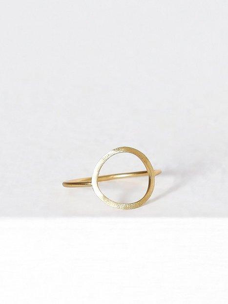 Billede af MINT By TIMI Big circle ring Ring