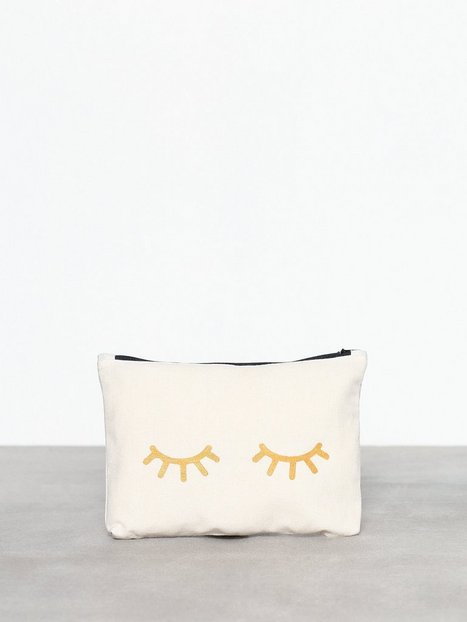MINT By TIMI Canvass Pouch Metallic-Eyes Kuvertväskor - MINT By TIMI