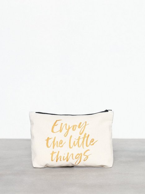 MINT By TIMI Canvass Pouch Metallic-Enjoy Kuvertväskor Guld